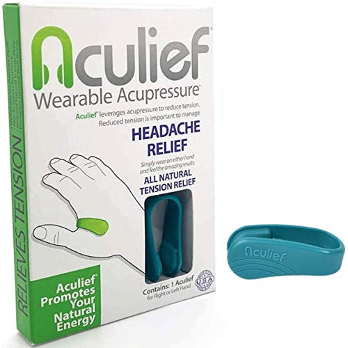 Aculief - Award Winning Natural Headache, Migraine, Tension Relief Wearable