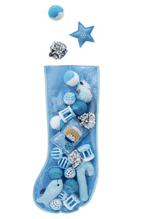 Frisco Holiday Stocking Variety Pack Cat Toy, 25-count