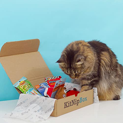 KitNipBox - Monthly Cat Subscription Box of Cat Toys, Treats and Goodies