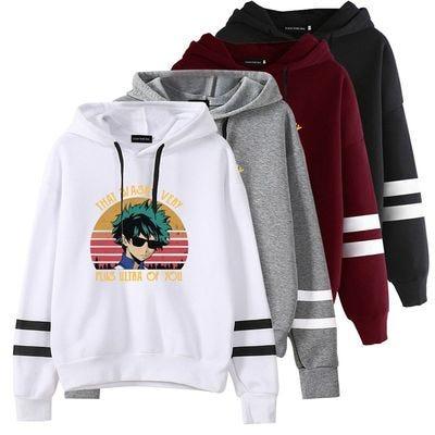 Anime Hooded Sweatshirt