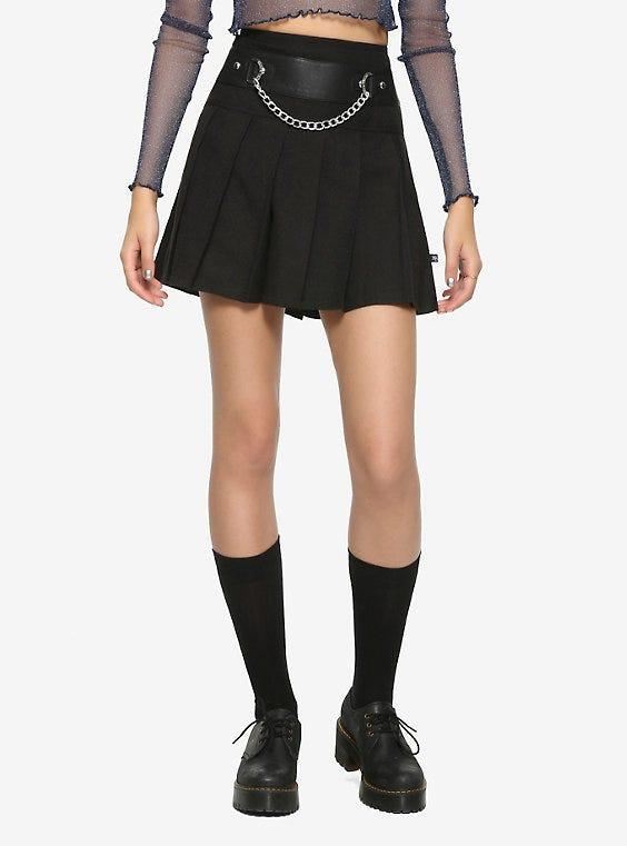 Royal Bones By Tripp Chain & Pleated Skirt