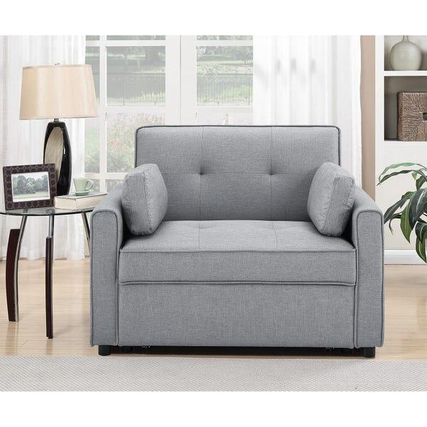 Serta Chloe Twin Pull-Out Sleeper Chair