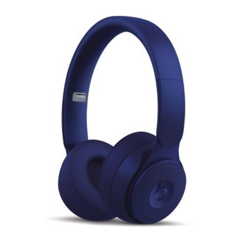 Beats by Dr. Dre - Solo Pro More Matte Collection Wireless Noise Cancelling On-Ear Headphones - Dark Blue