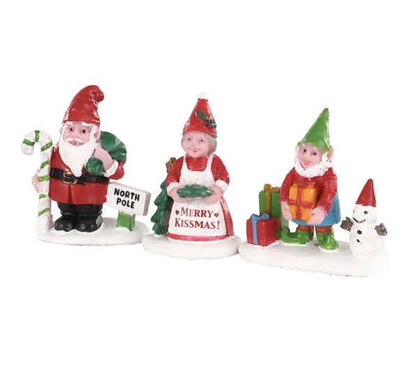 Lemax® Christmas Garden Gnomes Set