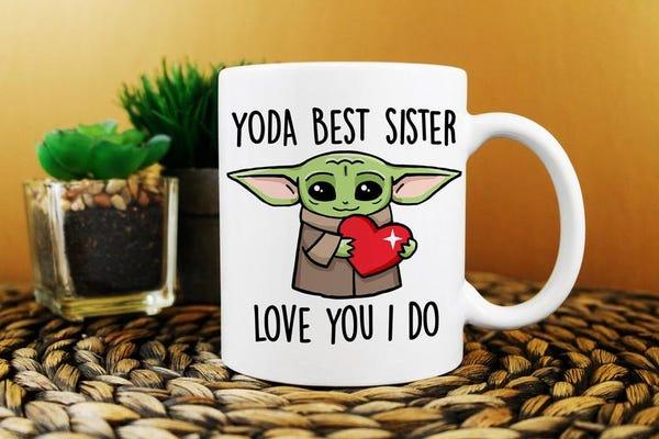 Yoda Best Sister Mug