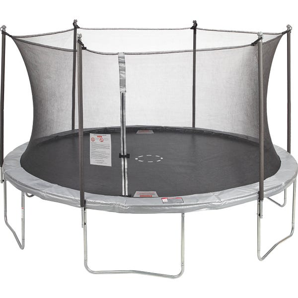 AGame 12 ft Round Trampoline with Enclosure
