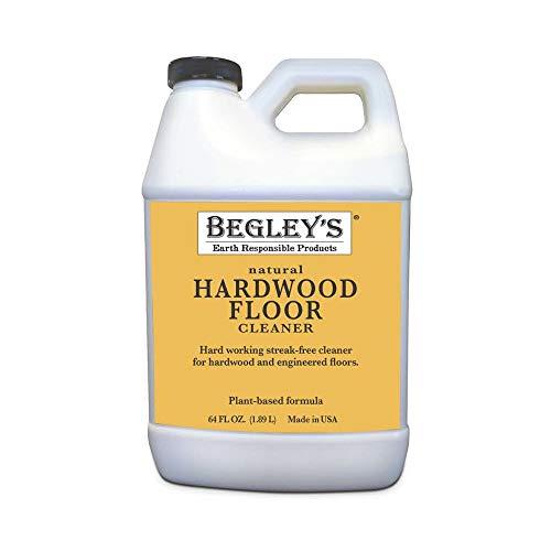 Begley's Best Earth Responsible Natural Plant-Based Hardwood Floor Cleaner