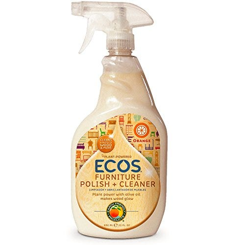 Earth Friendly Products ECOS Furniture Polish with Olive Oil