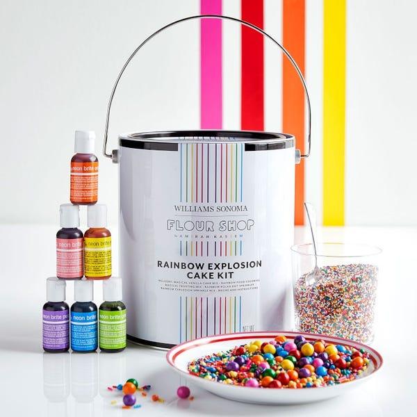 Flour Shop Rainbow Explosion Cake Kit