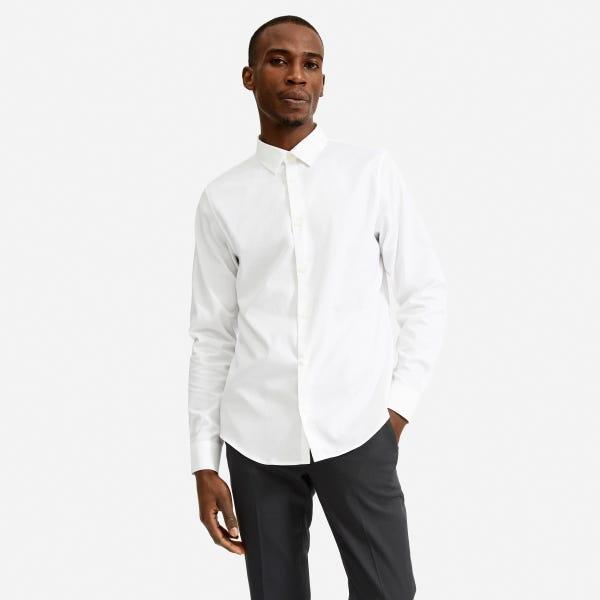 The Slim Fit Performance Shirt - White