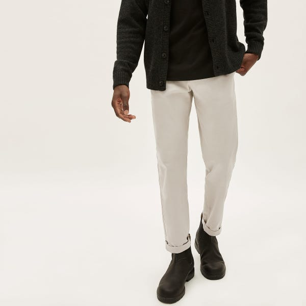 The Modern Fit Performance Chino - Stone