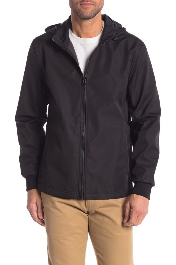 Zip Front Soft Shell Jacket