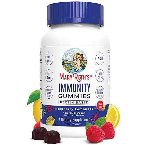 Immunity Gummies 5-in-1 by MaryRuth's (Raspberry Lemonade)