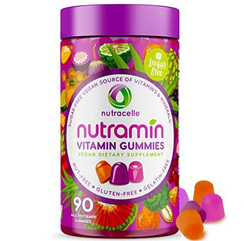 NUTRAMIN Daily Vegan Keto Multivitamin Gummies Vitamin C