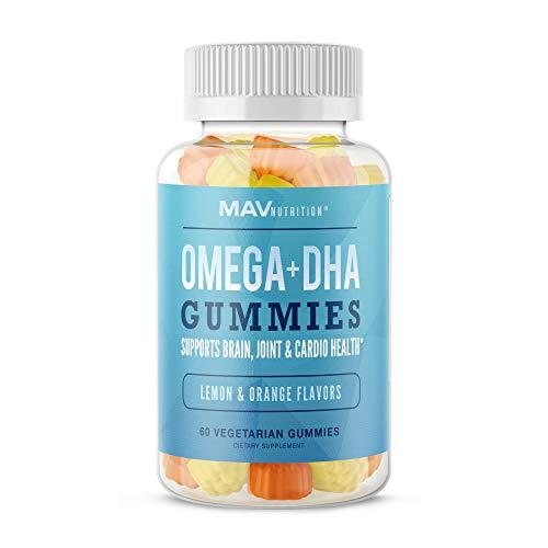 MAV Nutrition Fish Oil Omega 3 Gummies as DHA + Brain Supplement