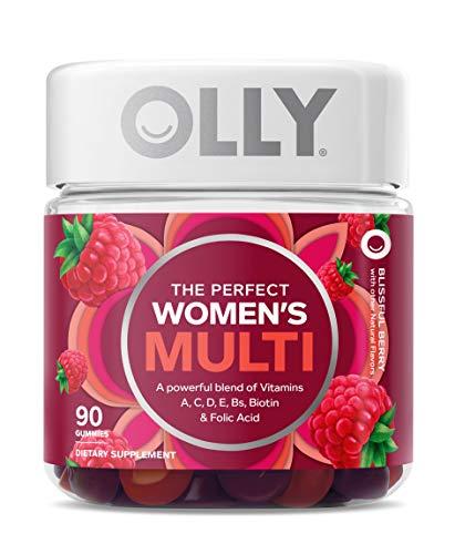 Olly Women's Multivitamin Gummy, Vitamins A, D, C, E