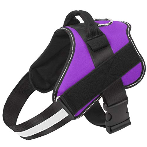 Bolux Dog Harness, No-Pull Reflective Breathable Adjustable Pet Vest