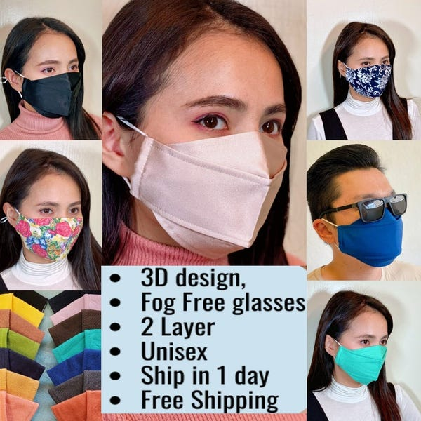 Best Face mask for Glasses wearers Anti fog