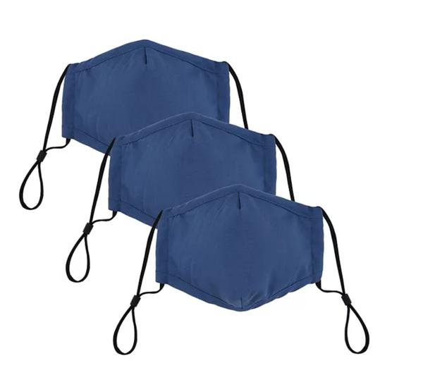 Adult Bespoke Washable Cloth Face Mask 3-Pack