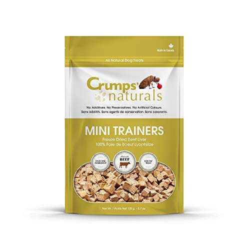 Crumps' Naturals Mini Trainers Freeze Dried Beef Liver