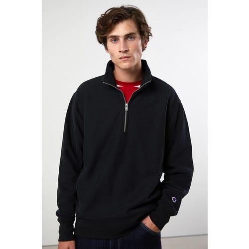 Champion UO Exclusive Reverse Weave Quarter-Zip Mock Neck Sweatshirt