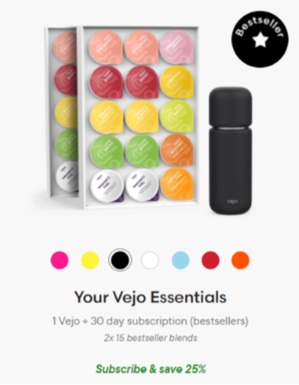 Your Vejo Essentials Starter Kit