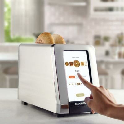 Revolution Cooking R180 High Speed Smart Toaster in Chrome