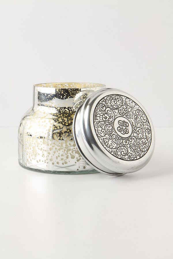 Capri Blue Volcano Mercury Glass Jar Candle