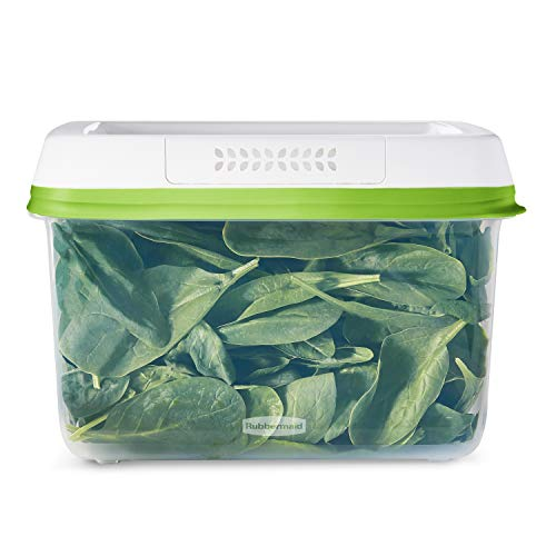Rubbermaid FreshWorks Saver, Large Produce Storage Container, 18.1-Cup