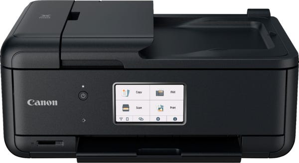 Canon - Pixma TR8620 Wireless All-In-One Inkjet Printer with Fax - Black