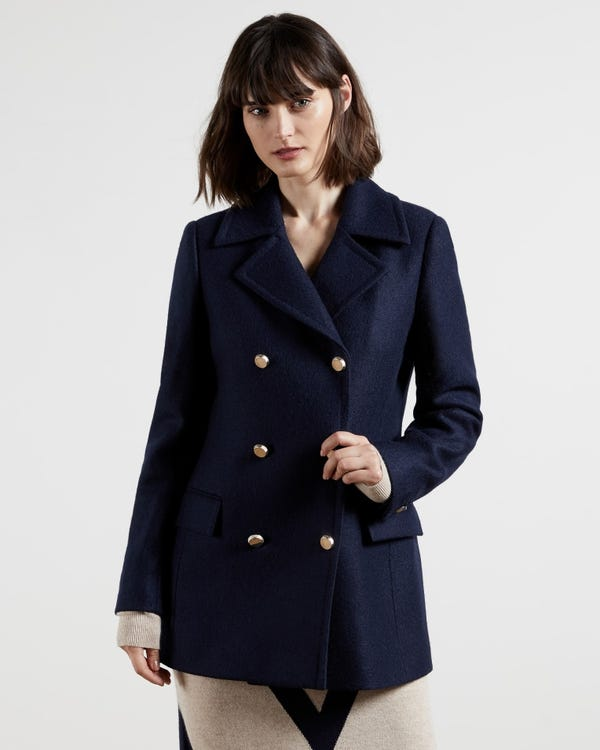 CATIIEY Double breasted pea coat