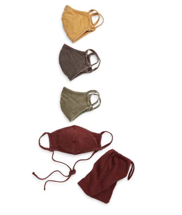 Assorted 4-Pack Adult Face Masks