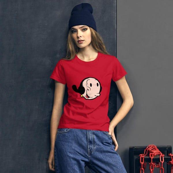Olive Oyl Women's short sleeve t-shirt
