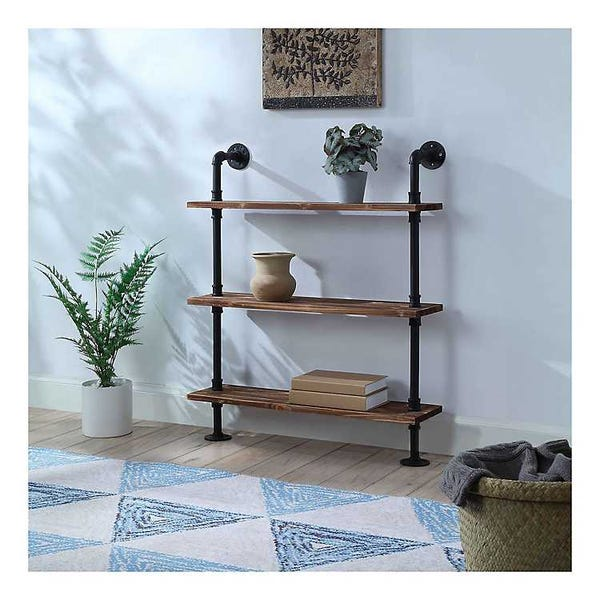 Annalee 3-Tier Industrial Piping Shelf
