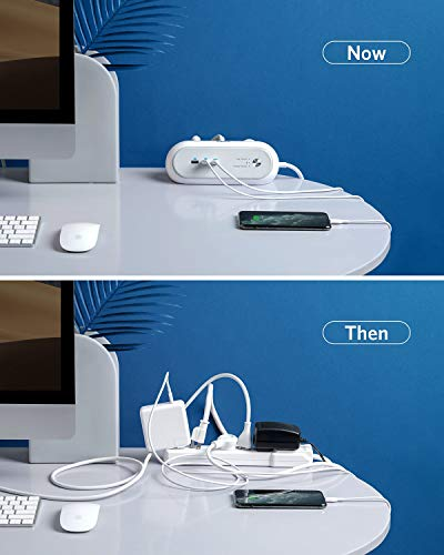 Anker USB C Power Strip Surge Protector for Home Office