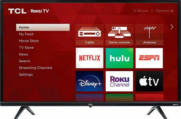 TCL 32Class 3-Series 720P HD LED Roku Smart TV 32S335