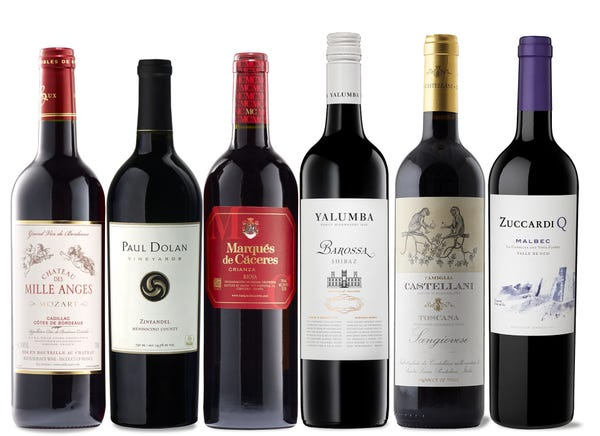 World Tour Red Wine Collection