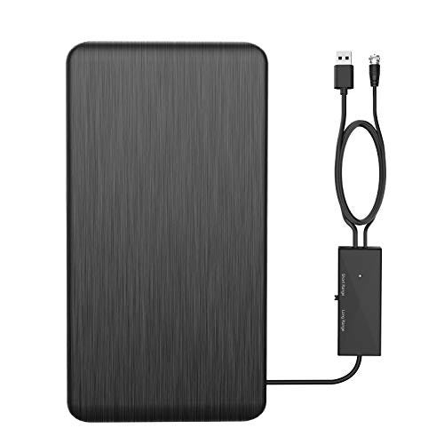 HD Digital Antenna for TV Indoor with Signal Amplifier