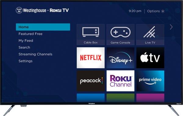 """Westinghouse - 58"""" Class LED 4K UHD Smart Roku TV"""