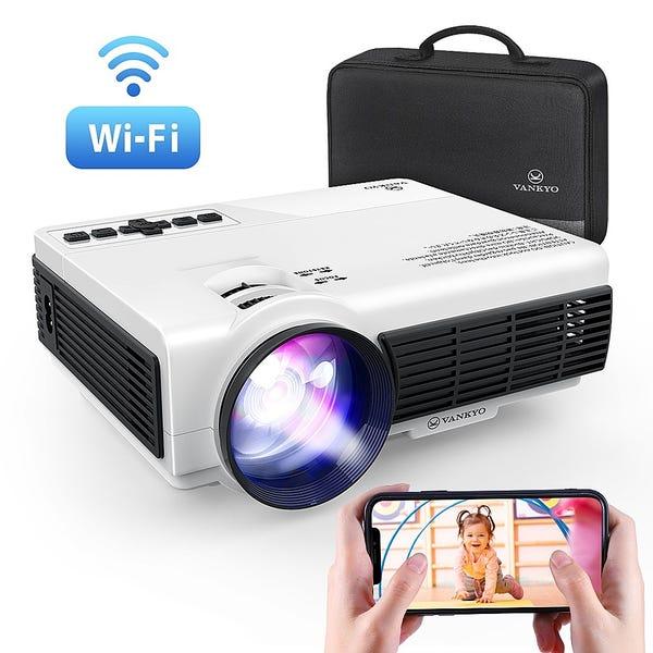 Vankyo - Leisure 3W Wireless Mini Projector - White