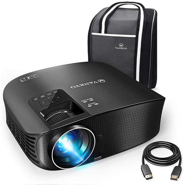 Vankyo - Leisure 510 HD 720P Projector - BLACK
