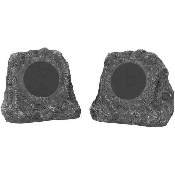 Innovative Technology - Powered Wireless Outdoor Speakers (Pair) - Gray