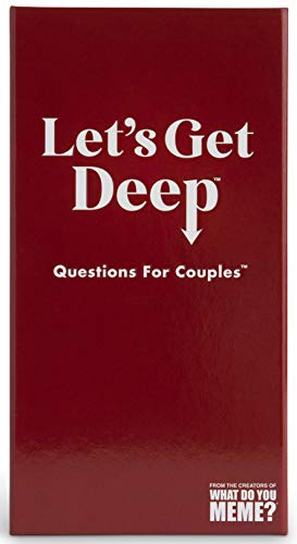 Let's Get Deep - The Party Game Full of Questions for Couples