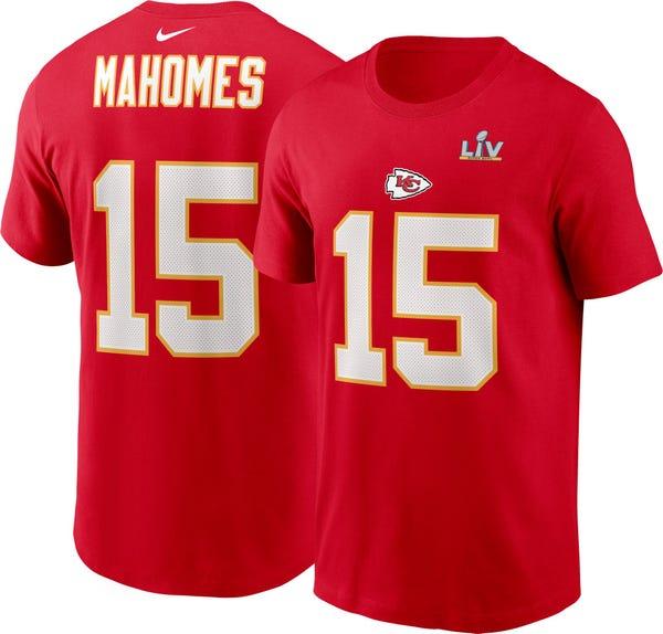 Nike Men's Kansas City Chiefs Patrick Mahomes #15