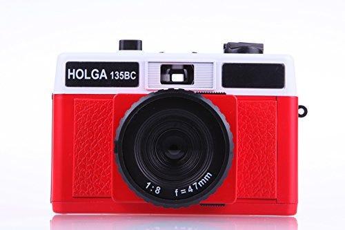 Holga 135BC Red and White 35mm Camera