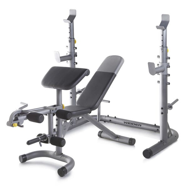 Weider Olympic Workout Bench with Squat Rack
