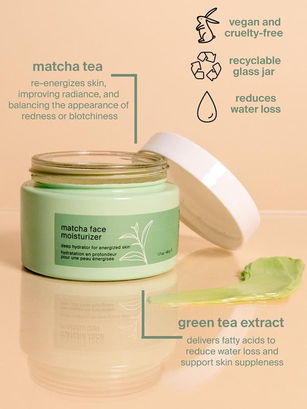 matcha face moisturizer