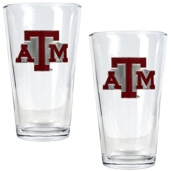 Texas A&M University 16 oz. Pint Glasses