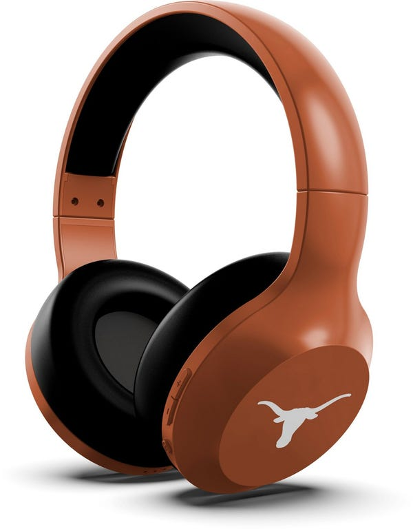 University of Texas Bluetooth Wireless Stereo Over-the-Ear Headphones