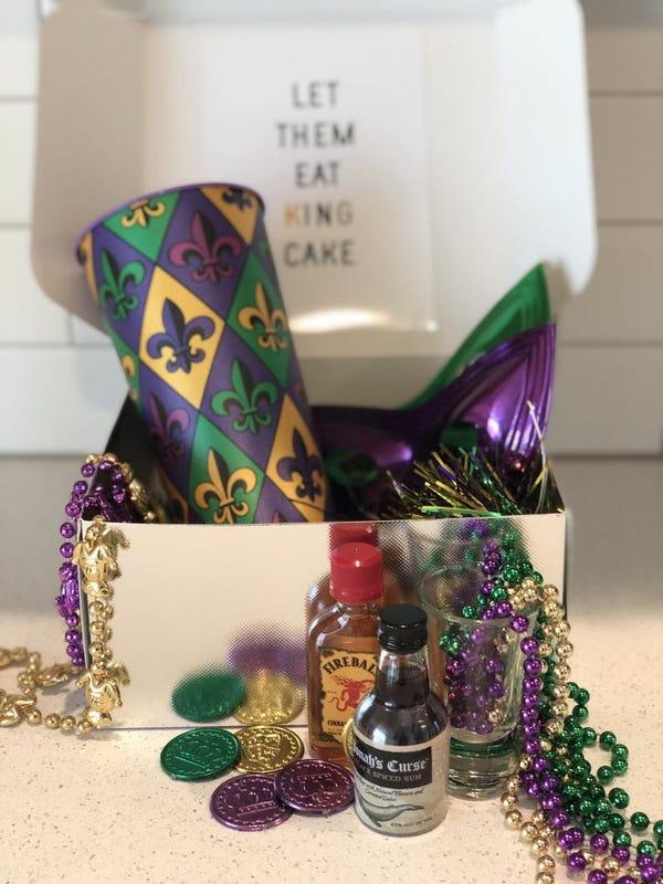 Mardi Gras Gift Box